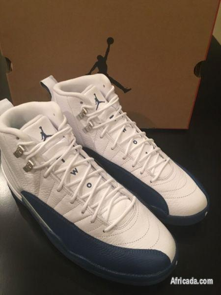 check out 5dcbb f4578 Air Jordan retro 12 French Blue