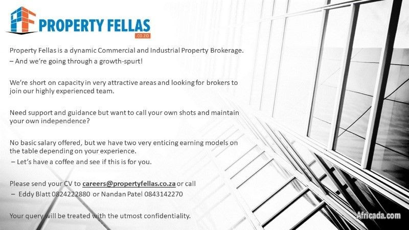 09a1110a34 Picture of Commercial Property Broker. Job Offer  Sales   Marketing