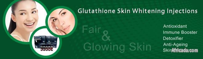 GLUTATHIONE SKIN LIGHTENING AND CLEARING PILLS OR INJECTION